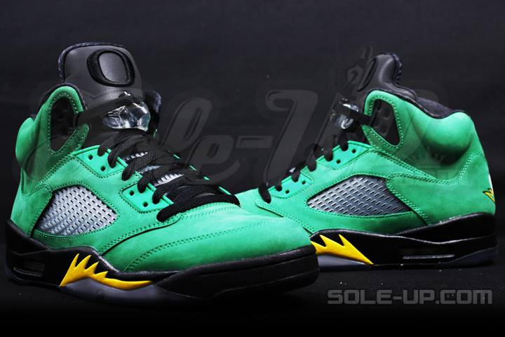 mens air jordan 5 green
