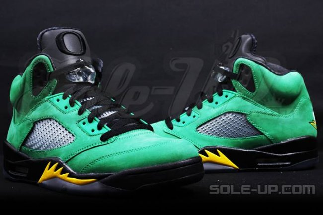 d37c3856e742 Air Jordan 5 (V) Retro Color  Green Apple Yellow Strike-Black Style   454803-535