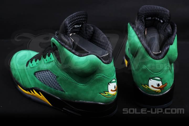 1cd8fe2b77d1 Air Jordan 5 (V) Retro Color  Green Apple Yellow Strike-Black Style   454803-535