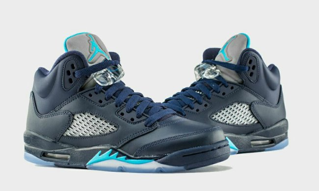 Air Jordan 5 (V) Retro Color  Midnight Navy Turquoise Blue-White Style   136027-405. Release  05 02 2015. Price   190.00 02f44da781