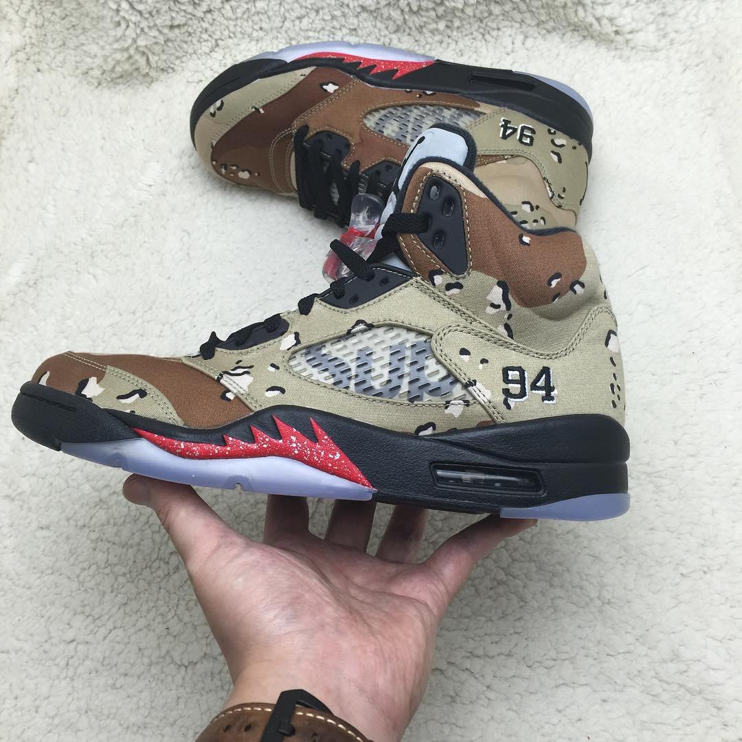 162ce234185e7f Supreme x Air Jordan 5