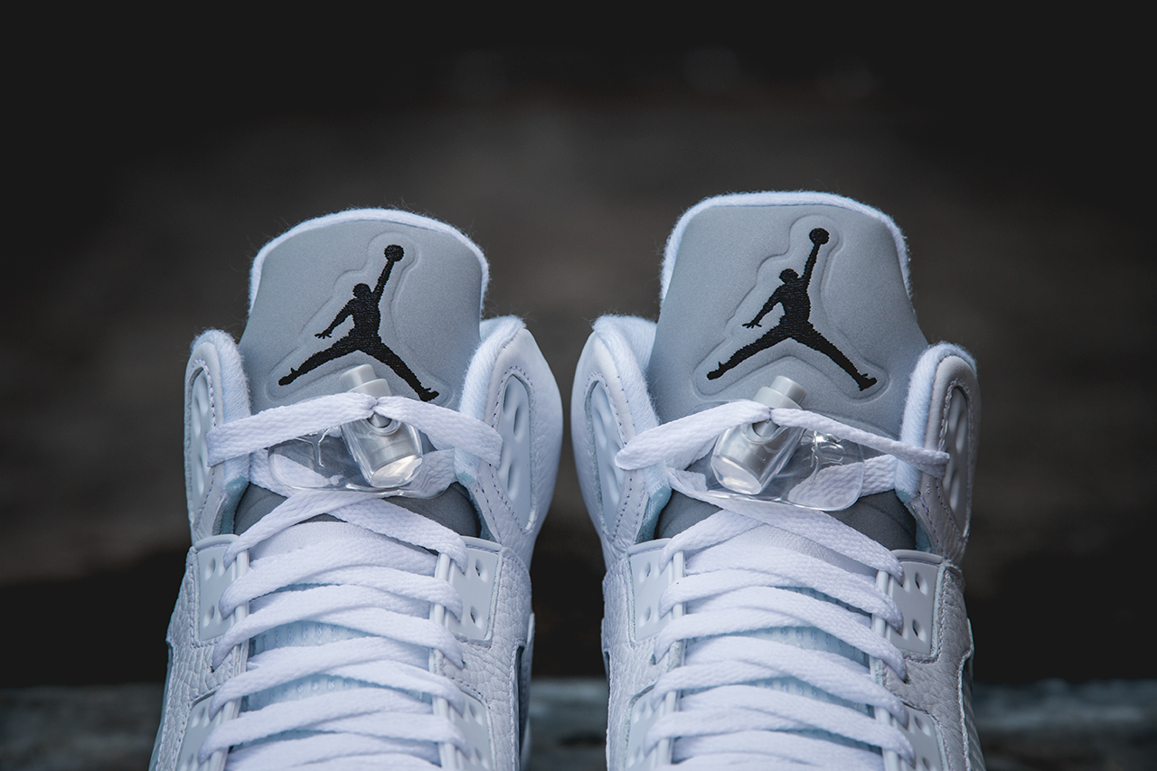 2f5b37d38f7a Air Jordan 5 Retro White   Metallic Silver - New Images - Air 23 - Air  Jordan Release Dates