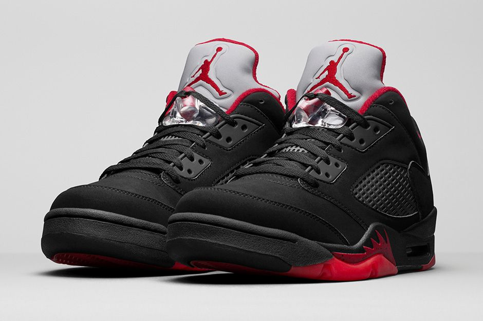 premium selection b5eef 5d4a0 air jordan 5 retro low alternate