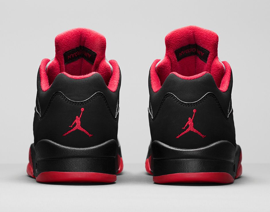 2a03f36a51a3 Air Jordan 5 (V) Retro Low Color  Black Gym Red-Black-Metallic Hematite  Style  819171-001. Release Date  01 30 2016. Price   175.00