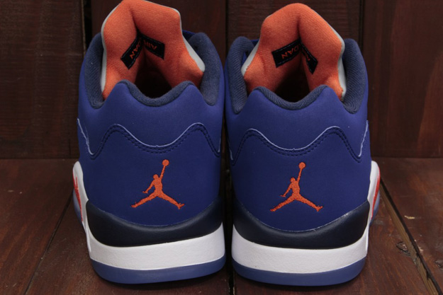 44fb19d2e97 Air Jordan 5 Low Knicks Images, Release Date - Air 23 - Air Jordan ...