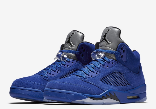 air jordan 5 flight suit game royal