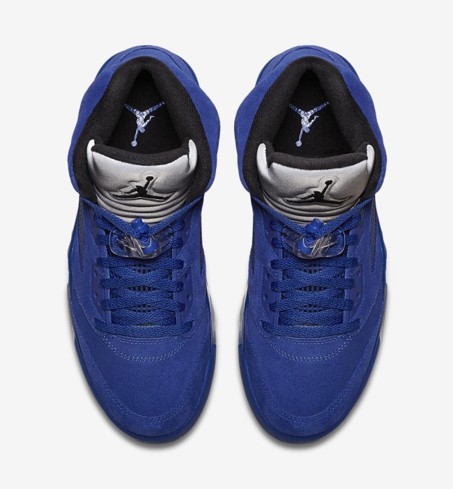 air jordan v flight suit game royal
