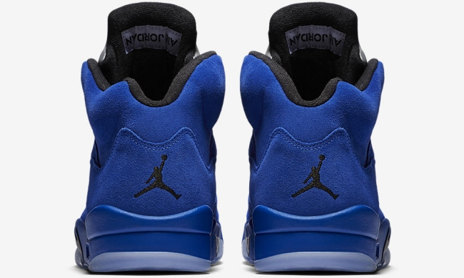 NIKE AIR JORDAN 5 RETRO V GAME ROYAL BLUE SUEDE FLIGHT SUIT 136027 401 SZ 13 94d8bba55