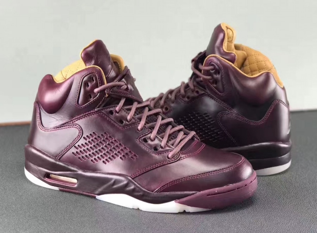 Air Jordan V Premium Bordeaux (Wine)