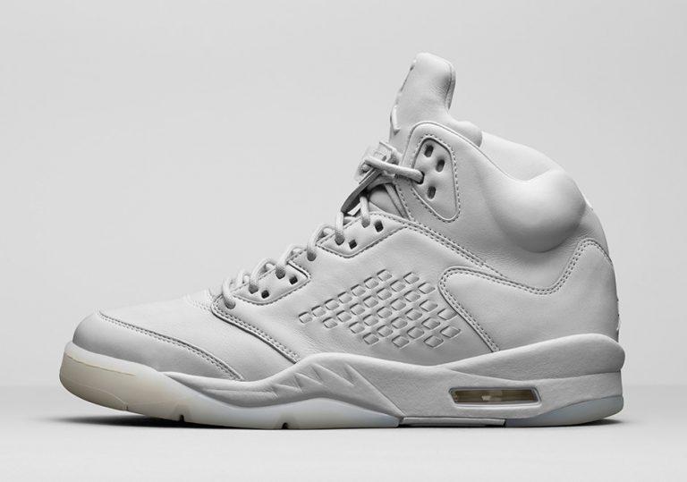 227046e14ad air jordan 5 premium pure platinum · Nike Air Jordan V 5 Pinnacle Premium  Black size 8. 881432-010.