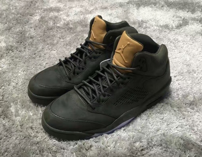 air jordan 5 tan tongue
