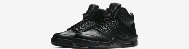 air jordan 5 triple black