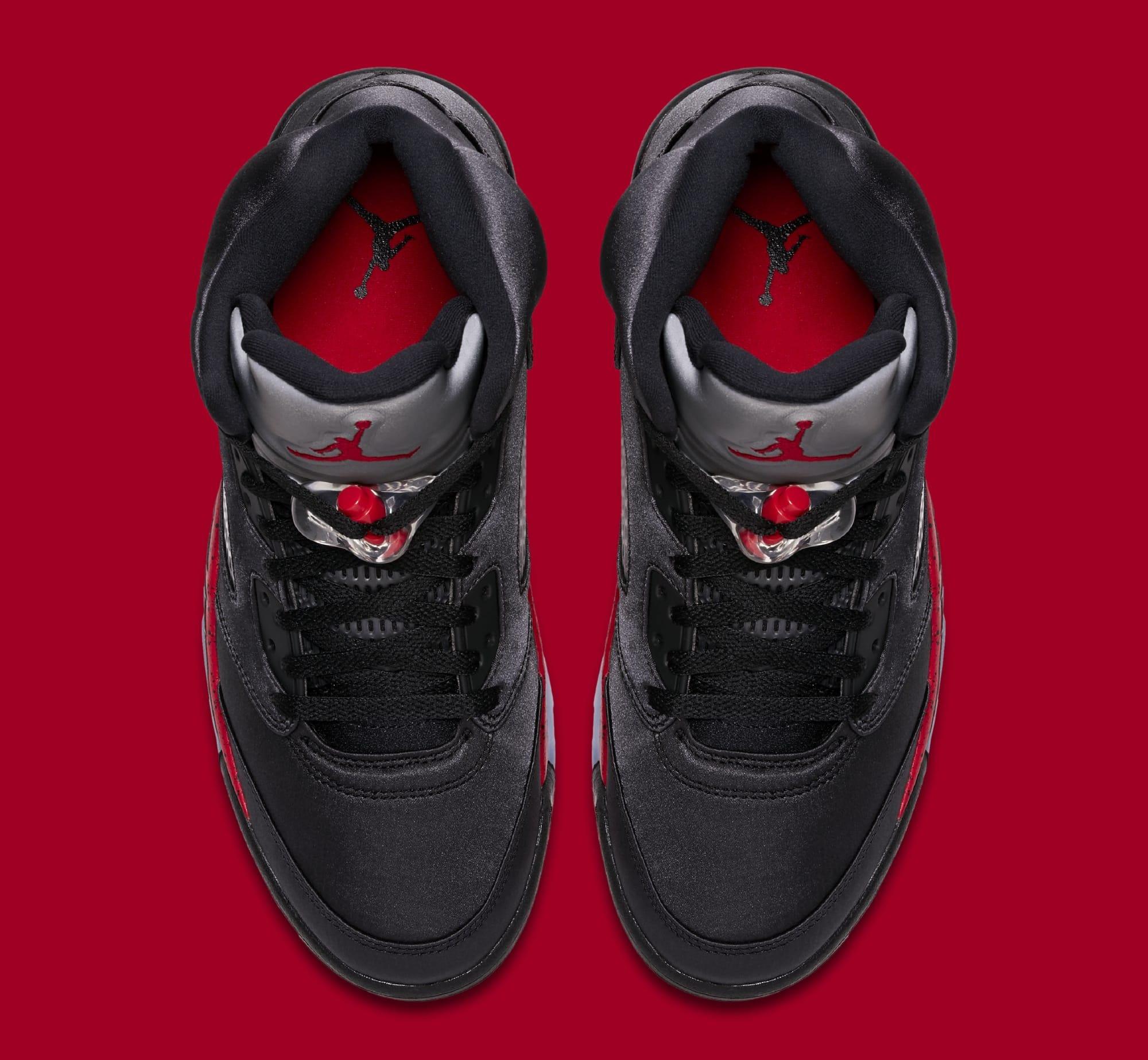 Nike Air Jordan Retro V 5 White Crimson Pulse Light Aqua Black 440892-100  Girls 8a1abf480