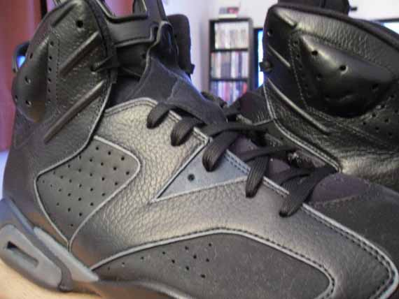 huge discount b108c 931b0 Air Jordan VI Dark Knight Customs