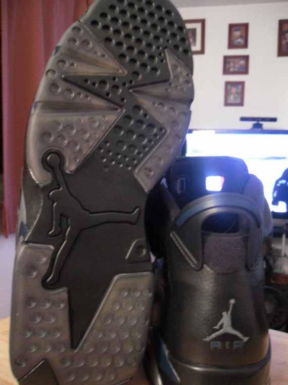 huge discount a4958 318a7 Air Jordan VI Dark Knight Customs