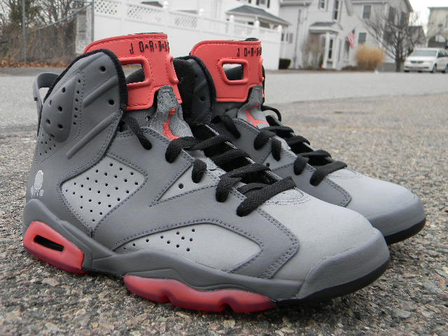 "buy popular c7888 f79a4 Air Jordan VI Retro ""Pigeon"" Customs"