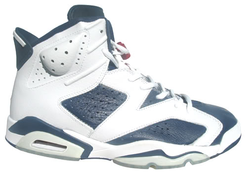 "23ce4db8572342 Air Jordan VI (6) ""Olympic"" Color  White Midnight Navy-Varsity Red Style   384664-130. Release  07    2012"