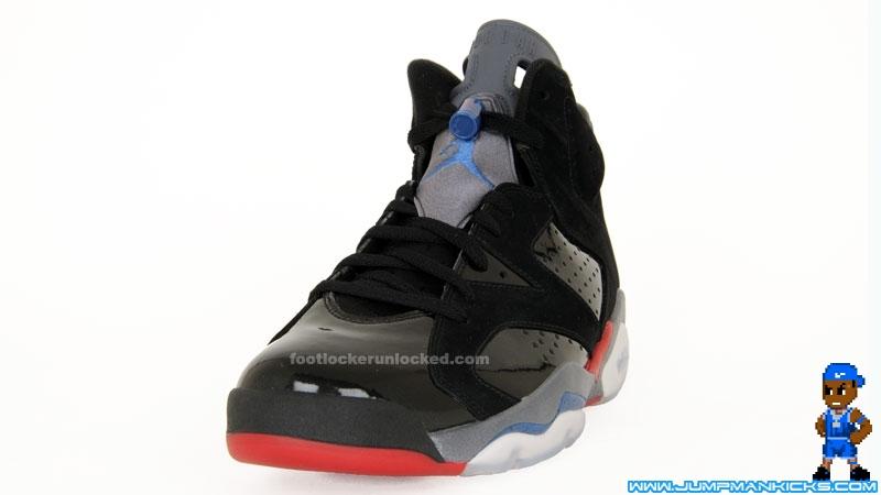 8a77704dc5c619 Air Jordan 6 (VI) Retro Color  Black True Blue-Varsity Red (Detroit Pistons)  Release  04 17 2010