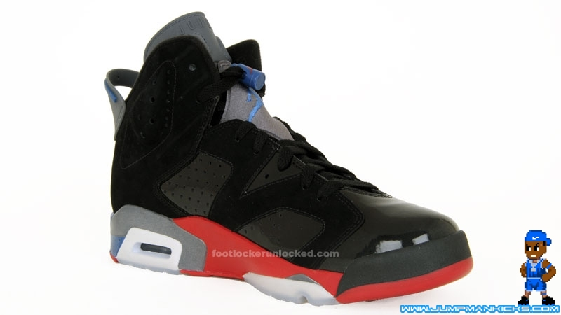 check out 0ac87 fe8fb Air Jordan 6 (VI) Retro Color  Black True Blue-Varsity Red (Detroit  Pistons) Release  04 17 2010