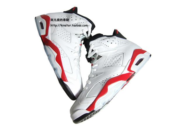 4bbafd68af8af2 Nike Air Jordan 6 VI Retro X Slam Dunk Varsity Red-White 717302-600 Size 9
