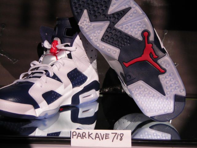 a263aa6e7c3 2012 Nike Air Jordan VI 6 Retro OLYMPIC size 8 ( PAYPAL ONY ) AUTHENTIC 100%
