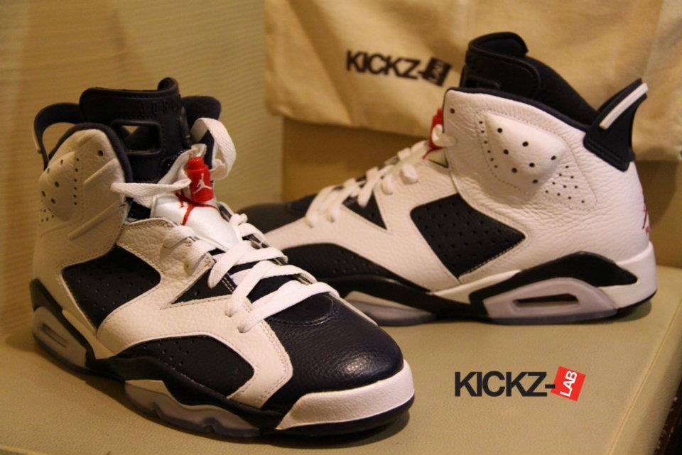 3666dfc68f0 Air Jordan 6 (VI) Retro Color: White/Midnight Navy-Varsity Red Style:  384664-130. Release: 07/07/2012. Price: $160.00