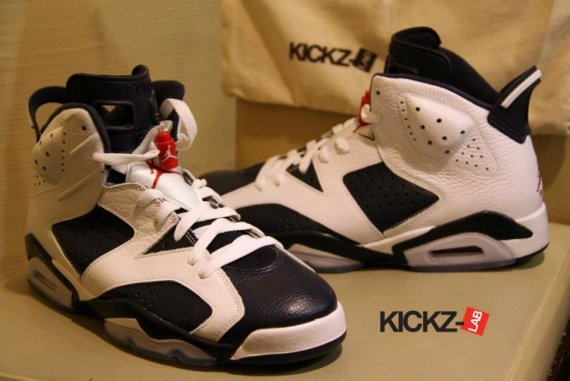 sports shoes afe3c 4c258 Air Jordan 6 (VI) Retro Color  White Midnight Navy-Varsity Red Style   384664-130. Release  07 07 2012. Price   160.00