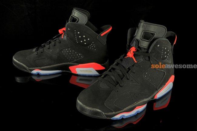 10710603f98 Air Jordan 6 (VI) Retro Color  Black Infrared Style  384664-023. Release   11 28 2014. Price   185.00