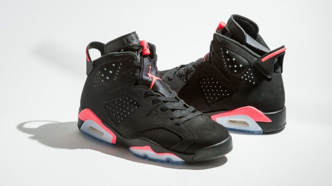 separation shoes aaf95 b58e2 Air Jordan 6 (VI) Retro Color  Black Infrared23-Black Style  384664-023.  Release  11 28 2014. Price   170.00