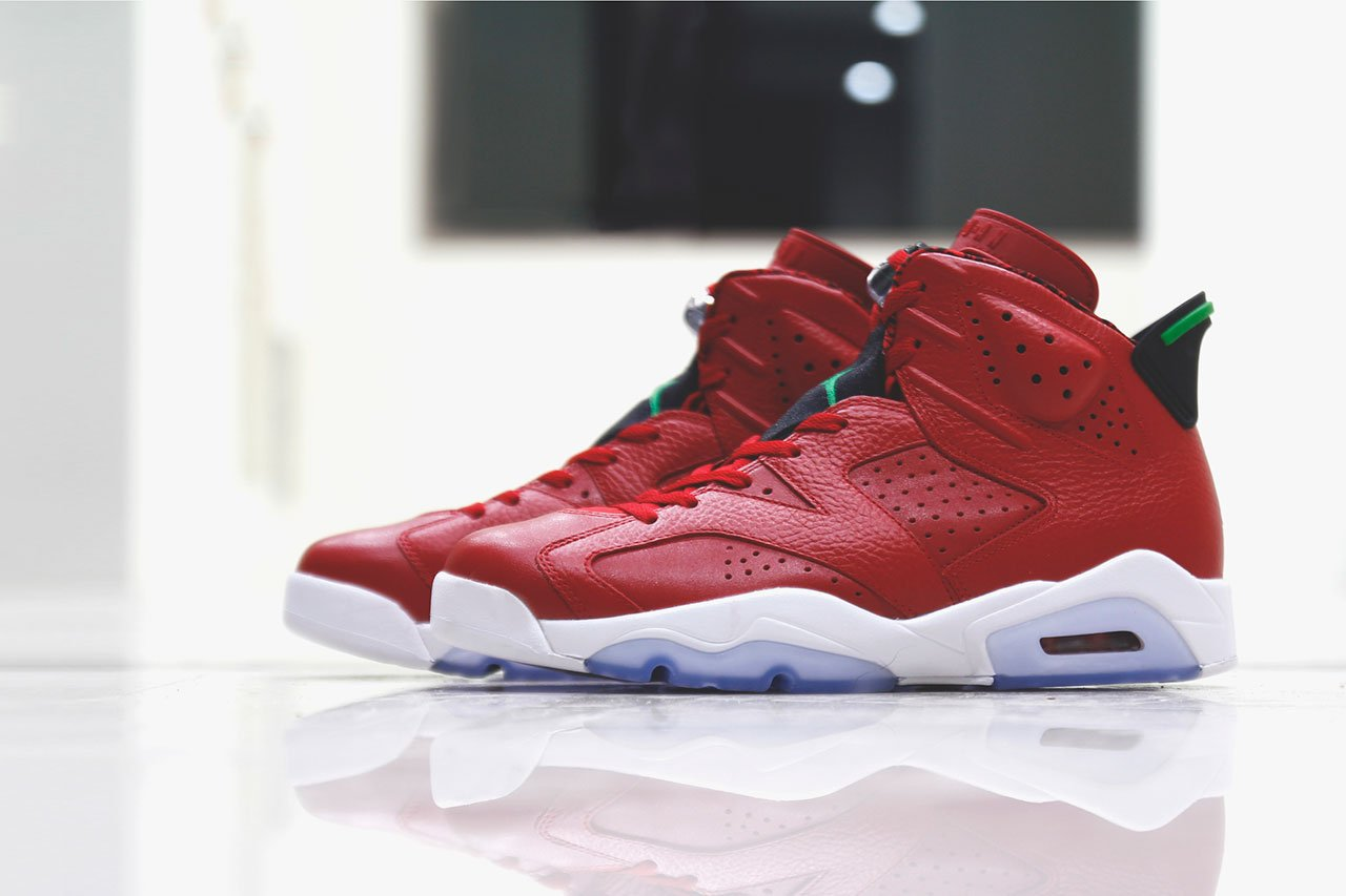 "the best attitude 61efc ce298 Air Jordan 6 (VI) Retro ""Spiz ike"" Detailed Images and Release Info"