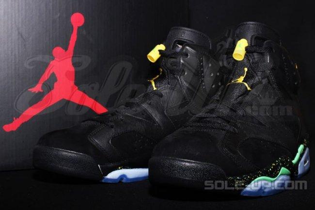 6593cc8df2aa00 Nike Air Jordan 6 VI Retro UNC Black University Blue 384664-006 SHIPS NOW