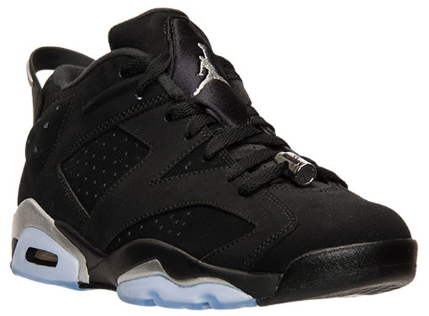 air jordan 6 low black metallic silver ebay price