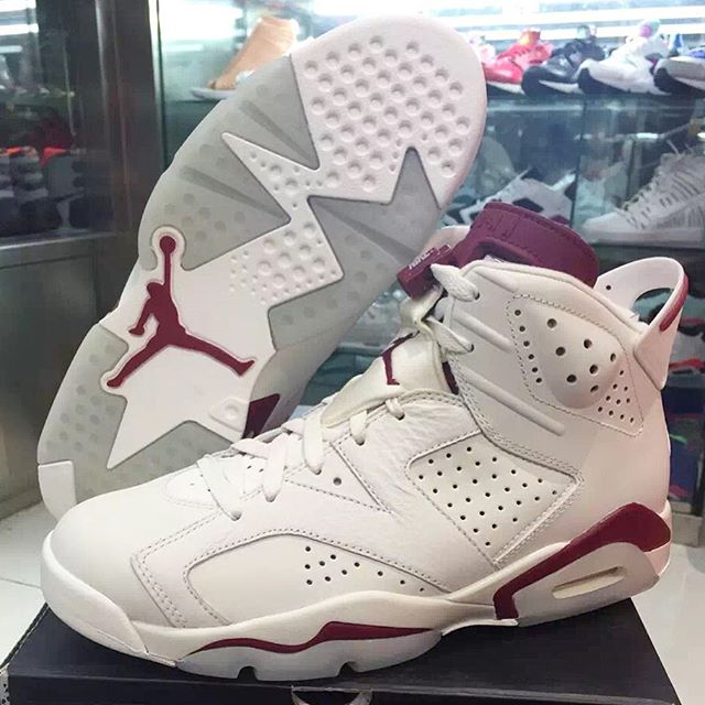 nike air jordan 6 maroon footlocker coupons