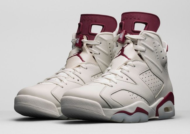 air jordan 6 retro maroon on ebay
