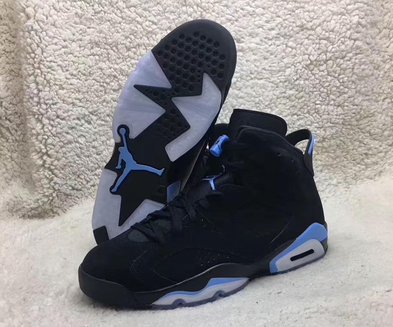 0eab35ff3ad Air Jordan 6 (VI) Retro Color  Black University Blue Style  384664-006.  Release Date  12 23 2017. Price   190.00