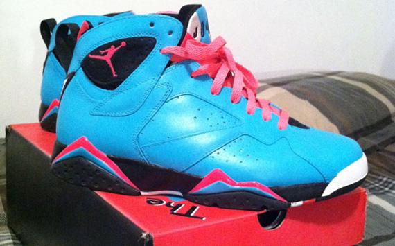 b4b3a1a61392b5 304775-003 Authentic Nike Air Jordan 7 VII Retro – Bordeaux black graphite