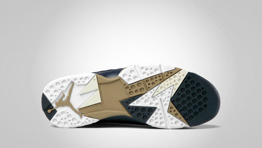 e163930d21c8cb Air Jordan VII Retro - Obsidian Natural-Filbert-White