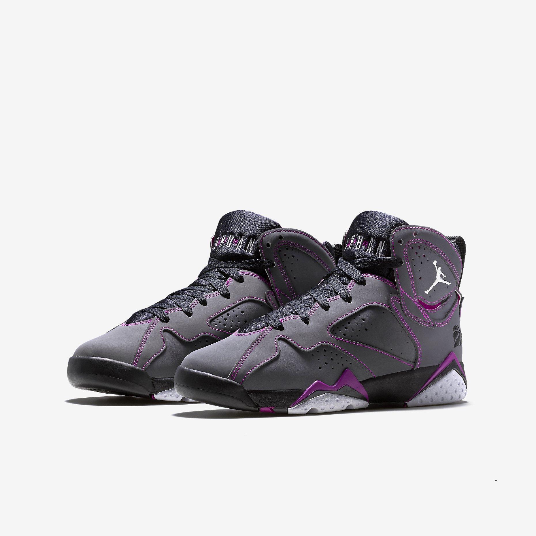 best loved b59eb f1de7 Air Jordan 7 Retro 30th. Color  Dark Grey Black-Fuchsia Flash-White Style   705417-016. Release  02 07 2015. Price   140.00