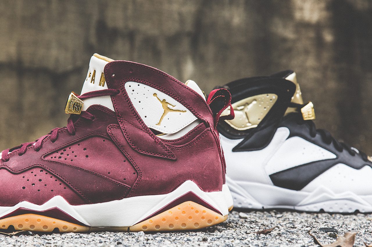 Air Jordan 7 Champagne and Cigar Pack Released Today - Air ...