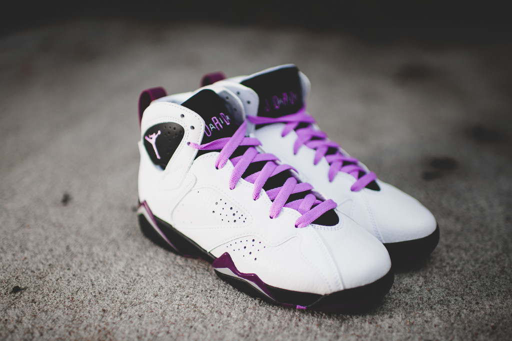 fdc5d1c2b5d6 Air Jordan 7 Retro GG Color  White Fuchsia Glow-Black-Mulberry Style   442960-127. Release Date  10 17 2015. Price   140.00