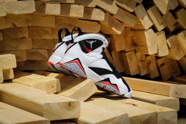 online store a3bdf e489c Air Jordan 7 (VII) Retro GG Color  White White-Black-Hot Lava Style   442961-106. Release Date  07 11 2015. Price   140.00