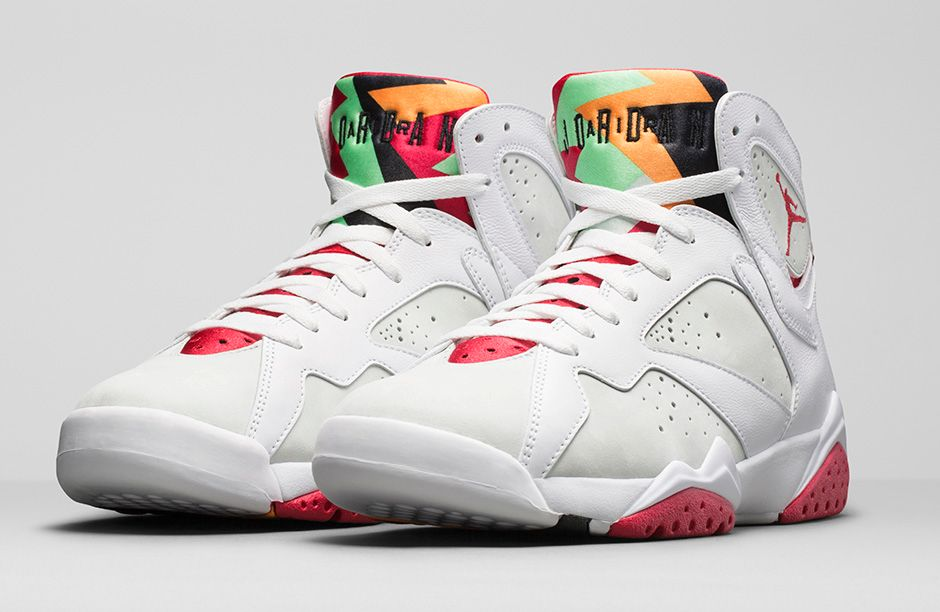 "4feb4238df7fd Reminder  Air Jordan 7 Retro ""Hare"" Releases Today"