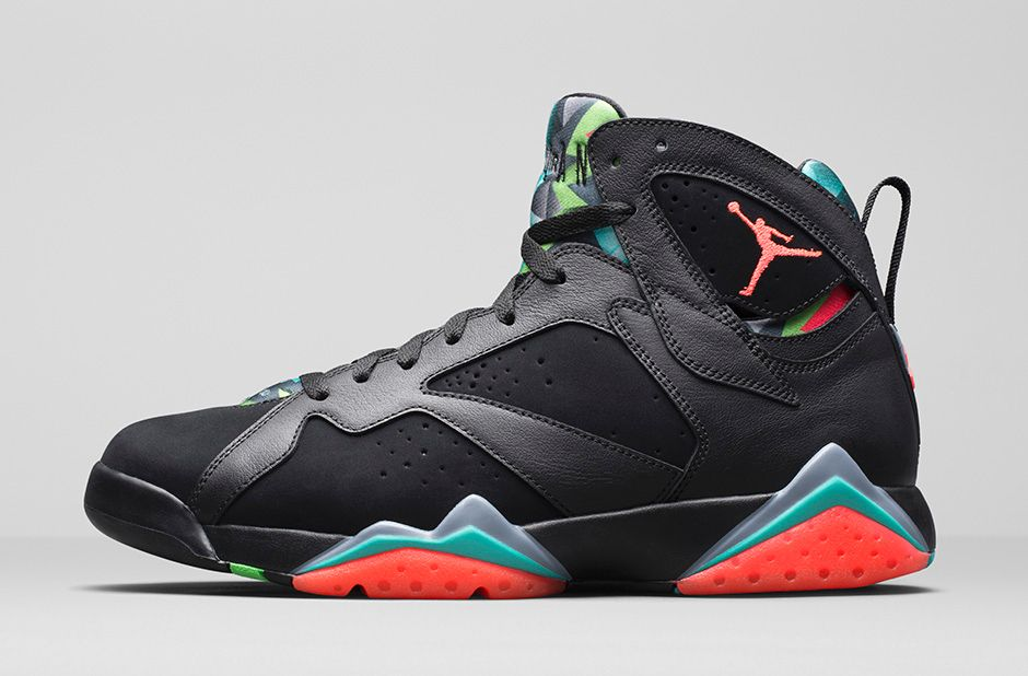 the best attitude a6285 373ca Air Jordan 7 (vii) 30th Anniversary Color  Black Blue Graphite Retro Infrared  23. Style  705350-007. Release  03 07 2015. Price   190.00