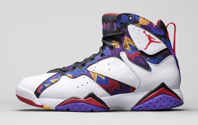 73eb1073f1ff5d Release Date  11 14 2015. Price   190.00. Nike Air Jordan 7 VII Retro  Sweater Nothing But Net ...