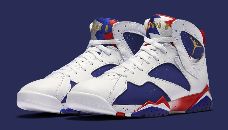 innovative design cc3af 5bc4b air jordan 7 olympic tinker alternate