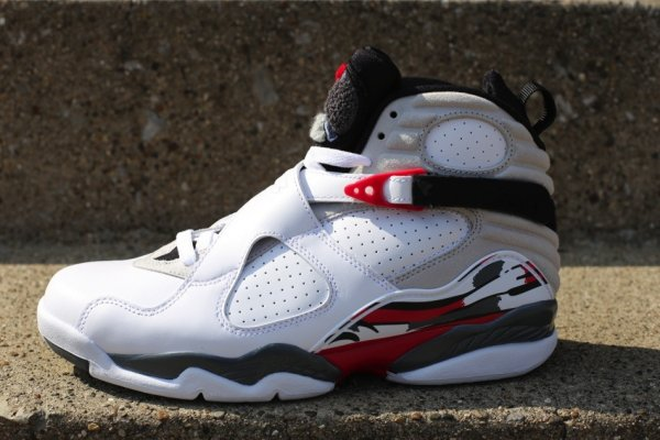c3fff194fa8c Air Jordan 8 (VIII) Retro Color  White Black-True Red Style  305381-103.  Release  04 20 2013. Price   160.00
