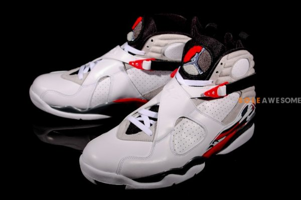 best website f8d04 42205 Air Jordan 8 (VIII) RetroColor  White Black-True Red Style  305381-103.  Release  04 20 2013. Price   160.00
