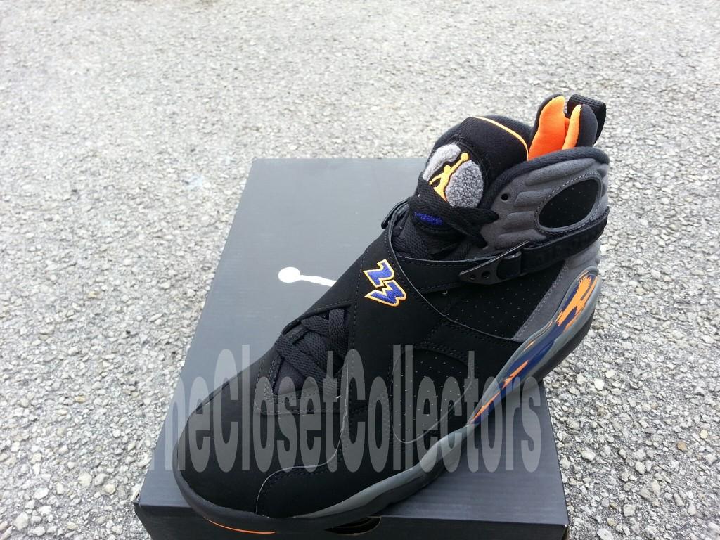 online store 25903 3a3c8 Air Jordan 8 (VIII) Retro Color  Black Bright Citrus-Cool Grey-Deep Royal  Blue Style  305381-043. Release  05 18 2013. Price   160.00