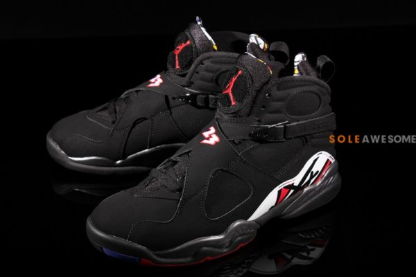 af39ca602c3ace  305381 022  NEW MEN S AIR JORDAN 8 VIII RETRO BLACK GYM RED WOLF GREY  JO1274