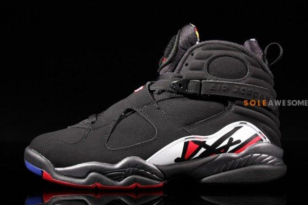 premium selection 11ac7 5a4a6 Air Jordan 8 (VIII) Retro Color  Black Varsity Red Style  305381-061